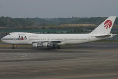 JA8155 Boeing B.742 JAA Japan Asia Airways
