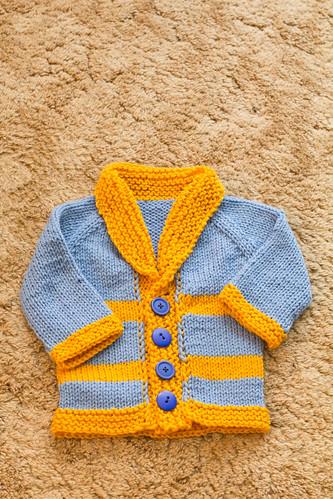 UCLA baby sweater