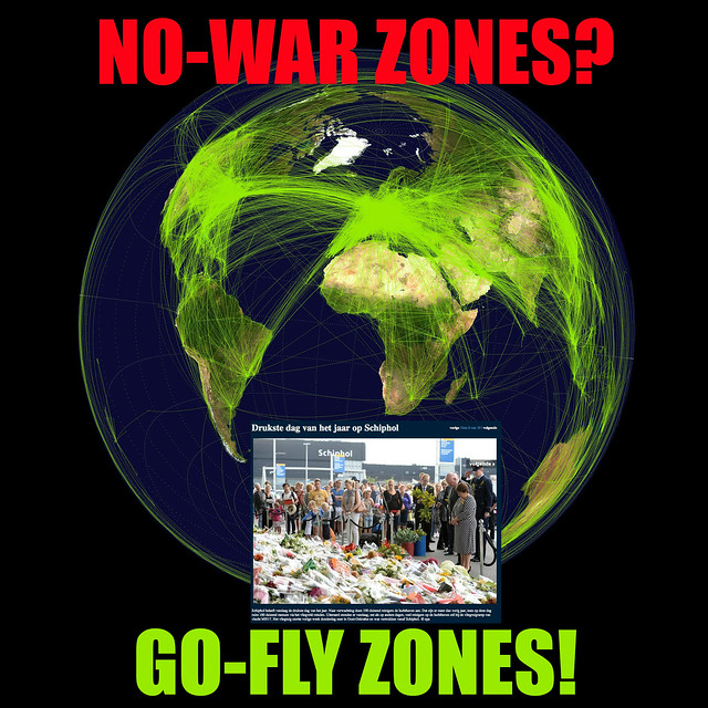 SCHIPHOL: BUSIEST DAY IN THE YEAR TODAY NO-WAR ZONES? GO-FLY ZONES!
