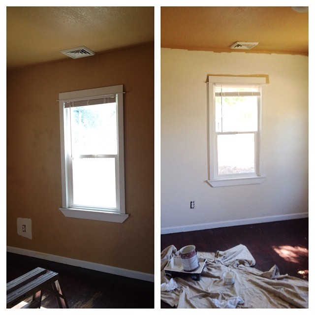Making progress on making the dark tan man cave house into something more liveable. Loving the new color so far!