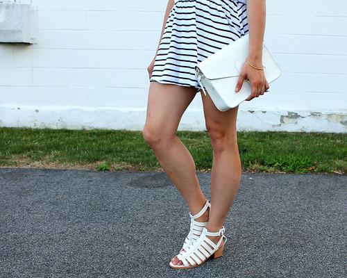 Striped Dress Detail 2
