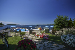 Spruce Point Inn Oceanfront Pool and Dock