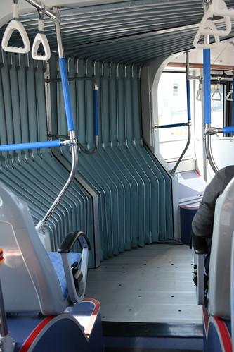 台中BRT車輛-迴轉時