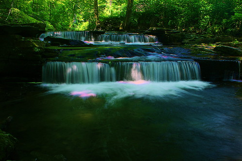 new york usa waterfall woodstock millstream tannerybrook