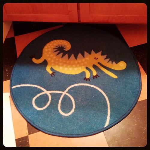 Our new bathroom rug