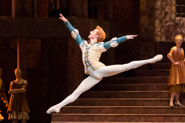 Steven McRae as Romeo in Romeo and Juliet © ROH/Johan Persson, 2013