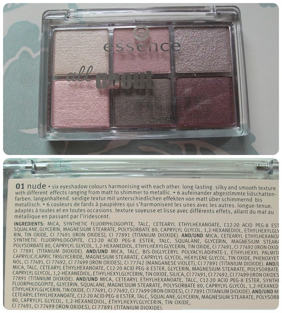 Essence All About Nude Palette