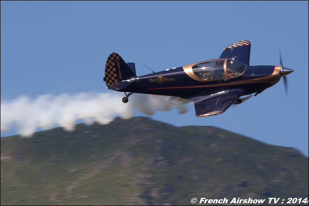 Patrouille swift ,Meribel Airshow 2014
