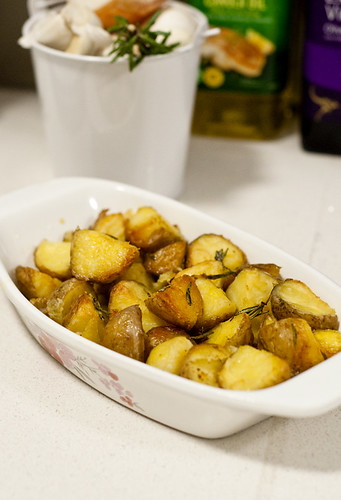 Crunchy Roast Potatoes