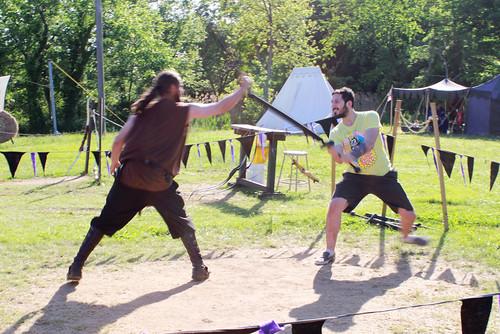 sword fighting, ren faire, renaissance faire, fake swords