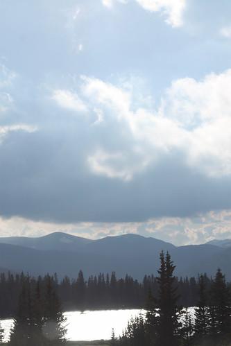 Gorgeous mountain view.