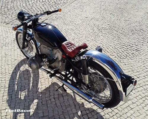 FlatRacer Mancha Negra BMW custom motorcycle