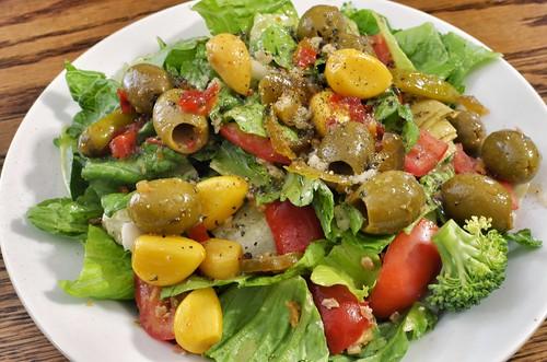 Mmm... nice salad
