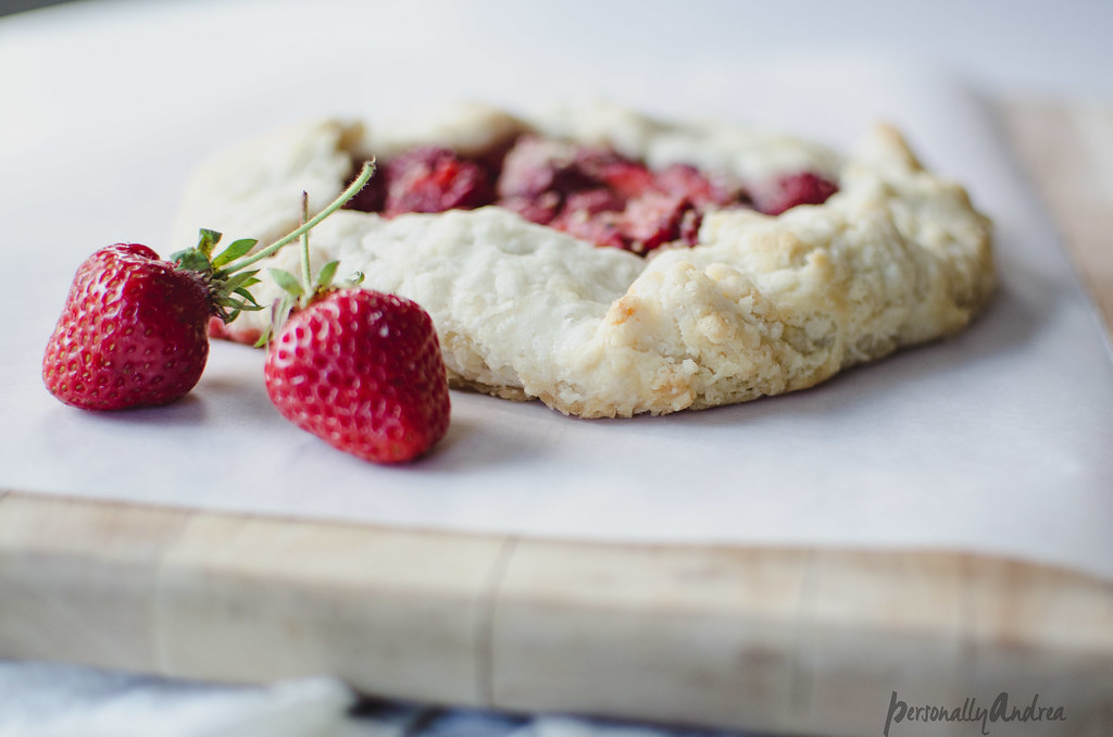 Photo Finish | Strawberry Galette | personallyandrea.com