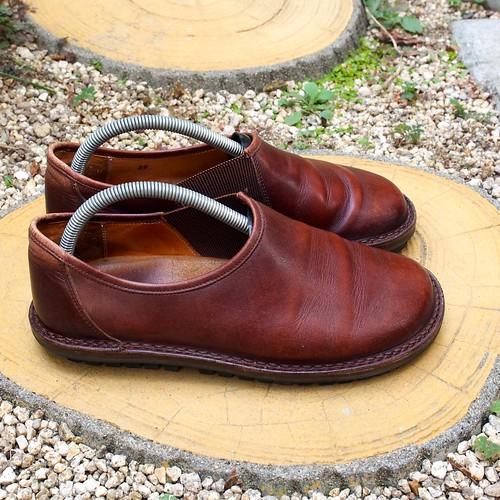 ある営業マンの靴 trippen YEN