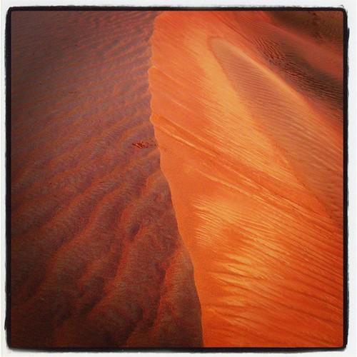 sunset square sand desert dune lofi squareformat iphoneography instagramapp uploaded:by=instagram
