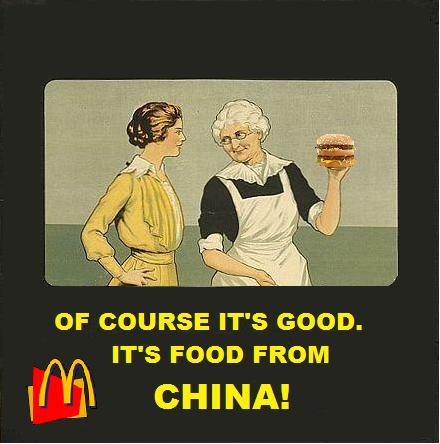China: Musty Meat at McDonald's?