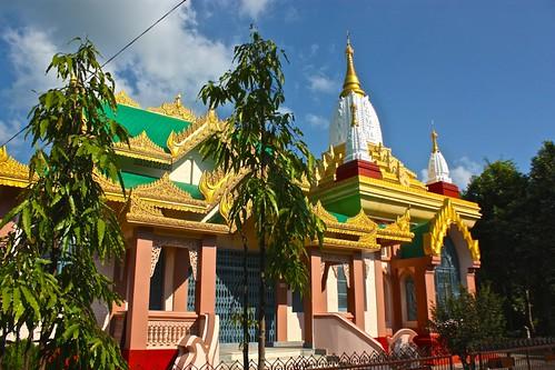 Cambodian temple in Lumbini