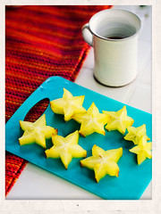 fun with starfruit (carambola)