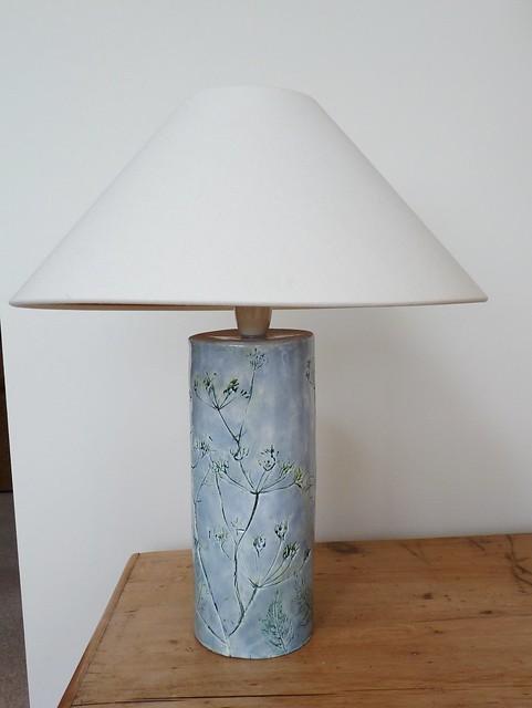 hand built lamp