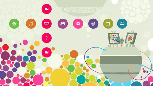 Hohokum PS3 Theme
