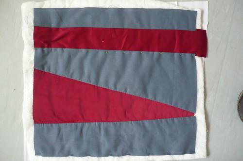 hrmless cushion back - corduroy and linen