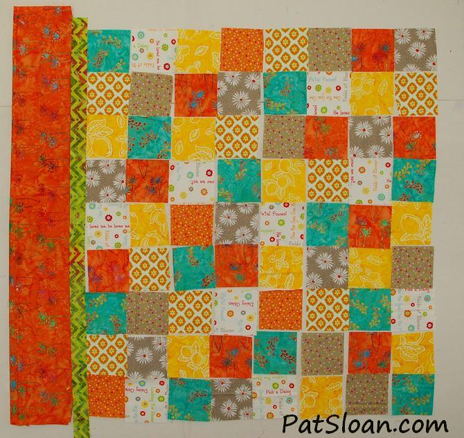 pat sloan scrap square quilt 14