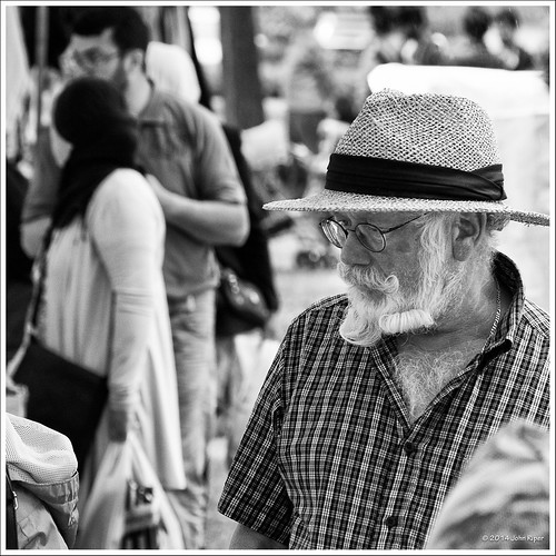 Well-bearded Gentleman at the Sunday Bazaar [Explore - July 28, 2014] | by John Riper