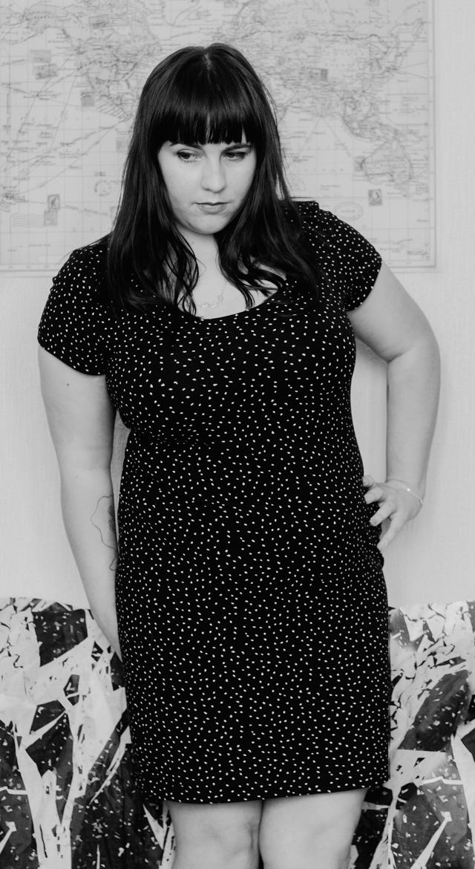 dotty dress full length