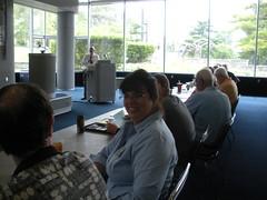 Stacey Savidge, First Godfrey Seminar, ICAP pin awarded