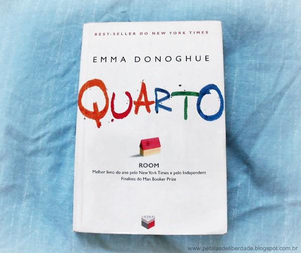 Quarto, Emma Donoghue, livro, sinopse, capa