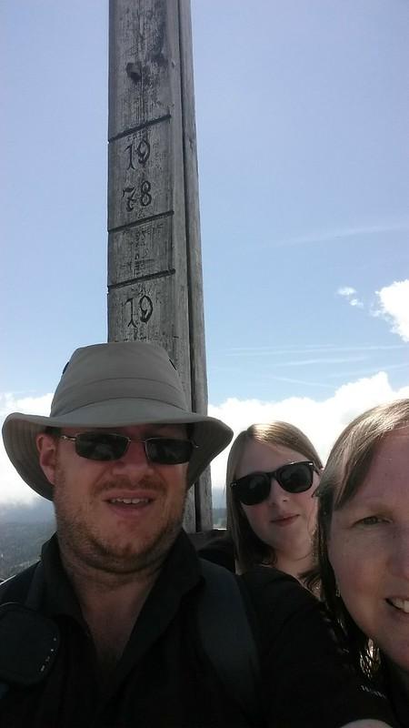 Zwölferhorn summit selfie