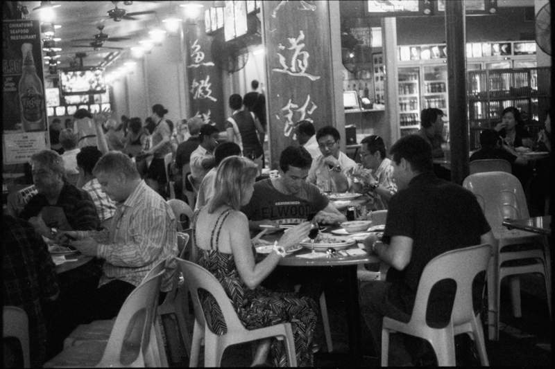 Diners, Singapore.