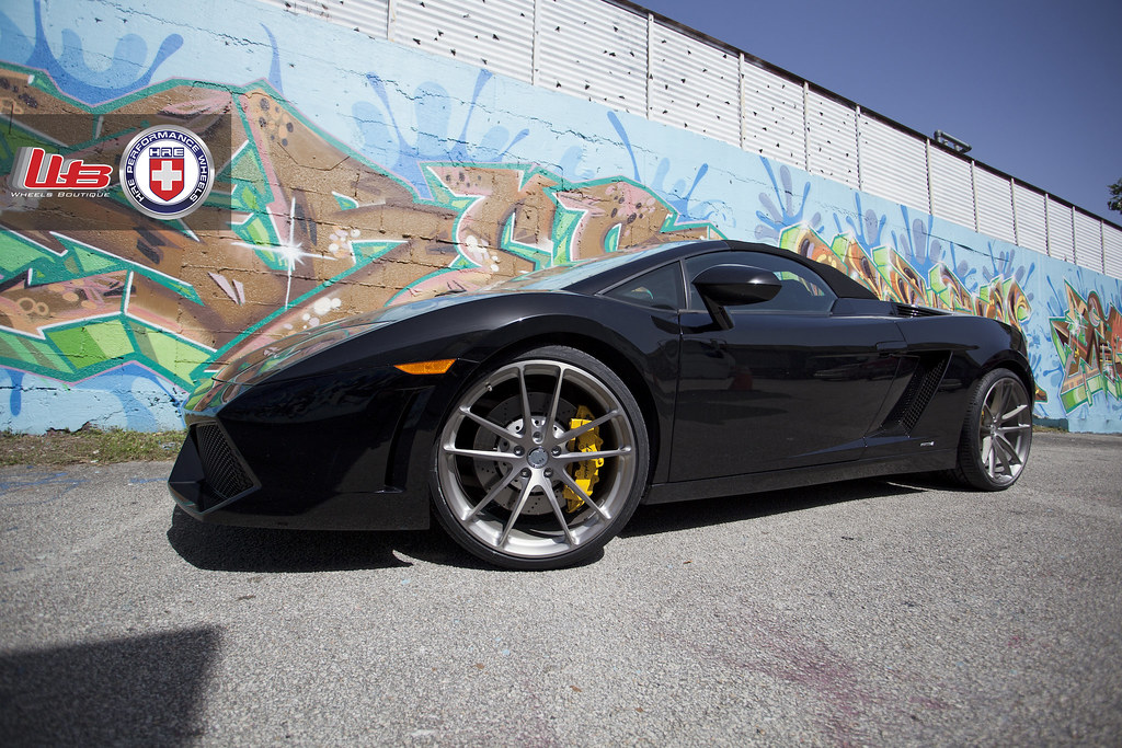 lamborghini gallardo spyder lp560 4 on hre p104 39 s wheels tires. Black Bedroom Furniture Sets. Home Design Ideas