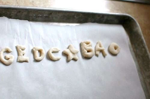 Salt Dough Alphabet