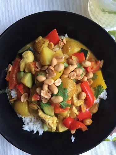 A celiac's kitchen_ old recipe yellow chicken curry