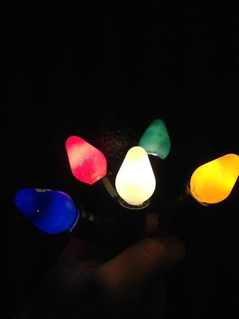 Ge C9 Christmas Lights