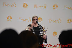 Kathy Bates, American Horror Story: Coven, in the 66th Emmy Awards Media Press Room DSC_0019