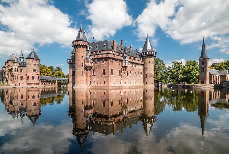 Castle de Haar, Haarzuilens, in the Netherlands