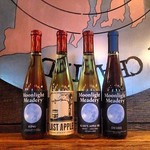 Now at Rogue, Moonlight Meadery!! Try one, or all four in a mead flight!