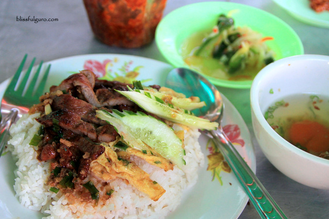 Siem Reap Cambodia Street Food Bai Sach Chrouk