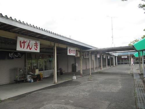 佐賀競馬場の食堂街