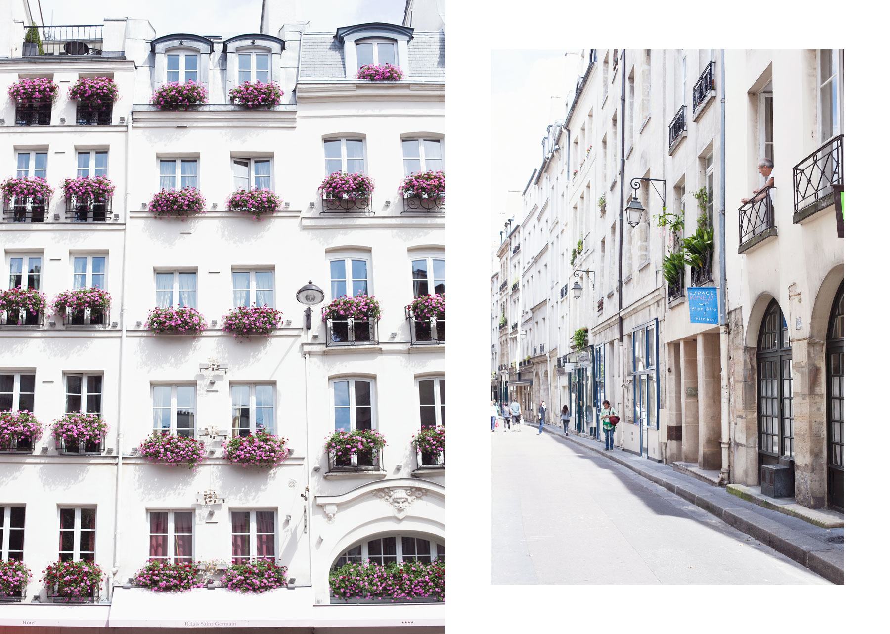 August in Paris by Carin Olsson (Paris in Four Months)