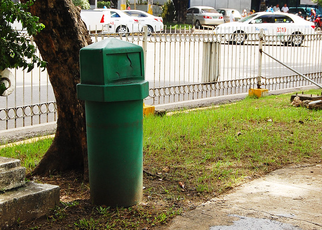 Cebu City trash bin