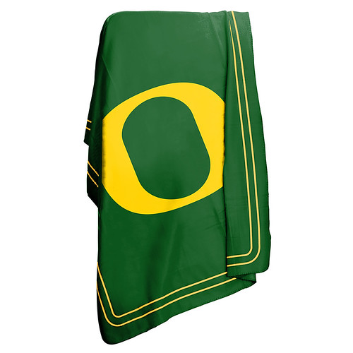 Oregon Ducks NCAA Classic Fleece Throw