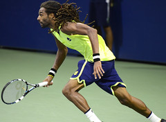 2014 US Open (Tennis) - Tournament - Dustin Brown