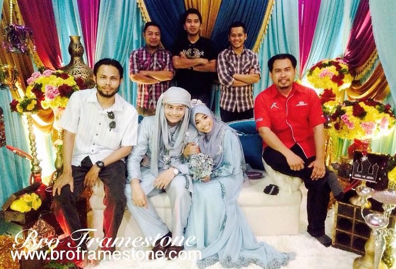 Majlis Perkahwinan Rakan Sekolah Ahmad Danial Abdul Rahman