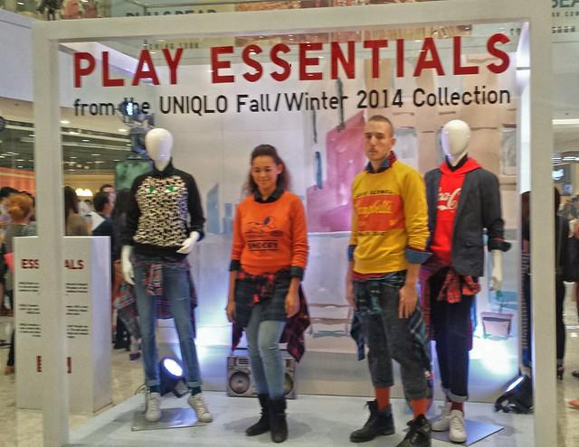 Uniqlo Fall 2014 Collectiom