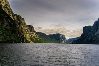 Rock Walls of the Fjord