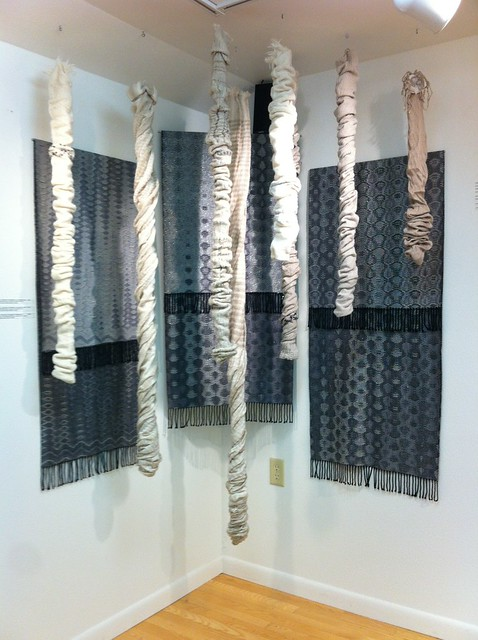 Woven hangings and stalactites